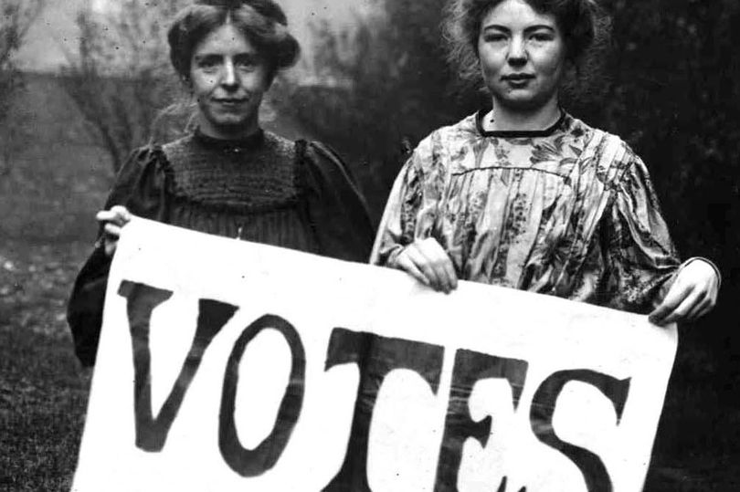 The suffragettes in the UK and USA - women's rights to vote